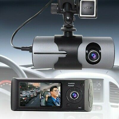 AU25 • Buy R300 DashCam - Synchronous Recording, Vehicle Mounted DVR With Double Cameras.