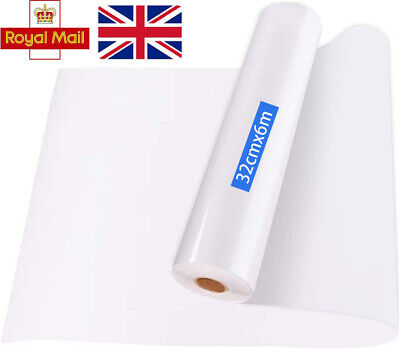 £6.09 • Buy 6M Clear Sign Vinyl Application Tape Sticky Sign Decal Transfer Paper UK-Seller