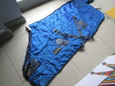 Equi Riding Blue M/W Stable Rug - 5ft 6  - Like Fal Pro Rug • 25£