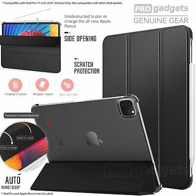 AU33.29 • Buy For IPad Pro 11 12.9 2021 Case MOKO Shockproof Slim Lightweight Stand Cover