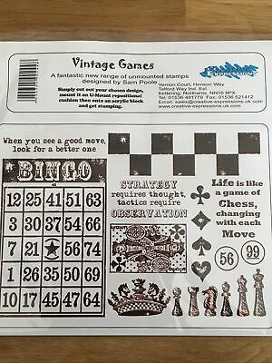 £4.95 • Buy Creative Expressions - Unmounted Stamps - Vintage Games