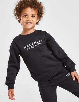 £21.99 • Buy New McKenzie Kids' Mini Essential Large Logo Crew Tracksuit From JD Outlet