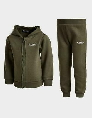 £23.99 • Buy New McKenzie Kids' Mini Essential Full Zip Tracksuit From JD Outlet
