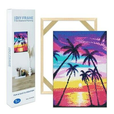 £7.98 • Buy Hanging Wall Frames For Diamond Painting Frames DIY Crafts 2 Sizes Optional