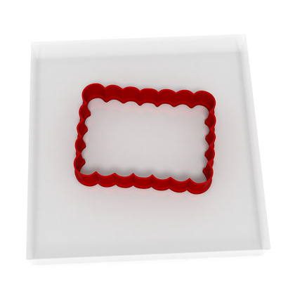 8CM Plaque Cookie Cutter Biscuit Dough Icing Shape Biscuit Cake • 3.99£