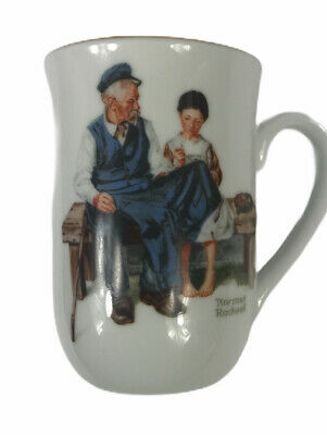 $ CDN17.21 • Buy Norman Rockwell Museum Mug Cup The Lighthouse Keeper's Daughter 1982 Vintage