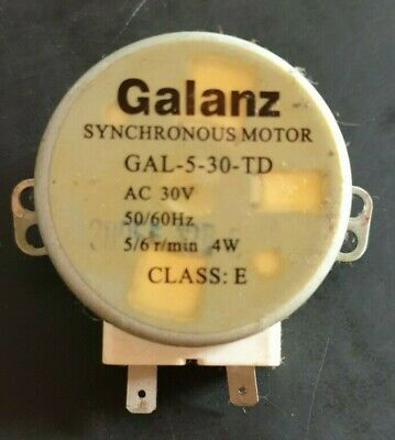 £8 • Buy Galanz Microwave Oven Turntable Synchronous Motor GAL 5-30-TD 5/6 R/min
