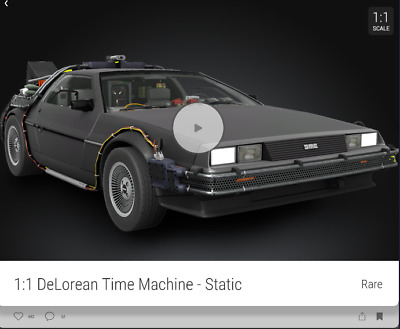 $200 • Buy VEVE NFT DeLorean RARE #/25000 FIRST APPERANCE SOLD OUT