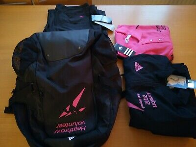£65 • Buy Addidas 2012 Olympics Volunteer F Clothes Kit With Backpack