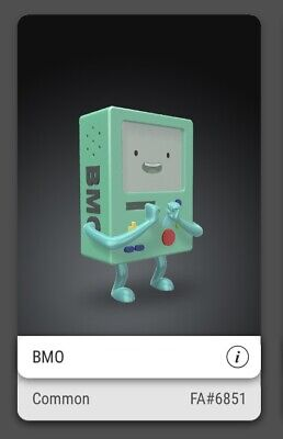 $49 • Buy VEVE NFT - Beemo BMO FA #6851/7500 - Adventure Time - CHINA Region Exclusive