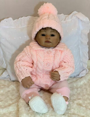 £3.15 • Buy Aran Cable Baby Jacket And Hat Pattern. VR65