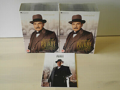 £75.80 • Buy Poirot - The Complete Collection (32 DVD)
