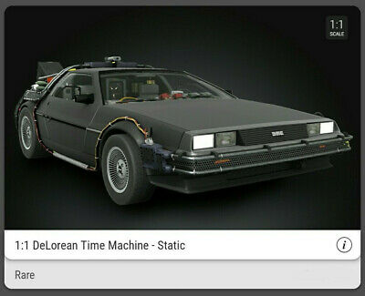 $319.95 • Buy Veve NFT - RARE - Back To The Future DeLorean - SOLD OUT