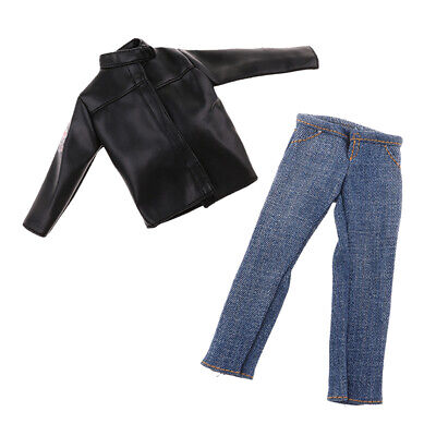 $15.55 • Buy 1/6 Mans Jacket & Jeans For Enterbay DID DML 12'' Action Figure Accessories