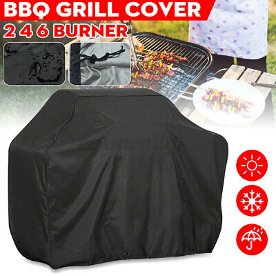 AU16.88 • Buy Barbecue BBQ Cover Waterproof 2 4 6 Burner Gas Charcoal Grill Protector Outdoor