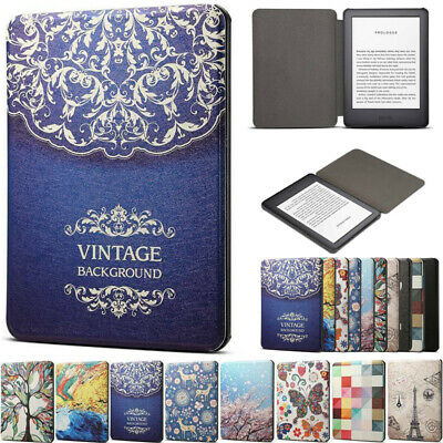 AU13.99 • Buy For Amazon Kindle 10th Gen 6 Paperwhite 1 2 3 4 Smart Leather Pattern Case Cover