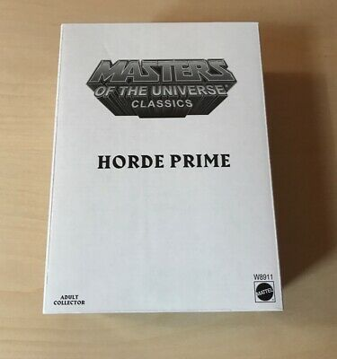 $70 • Buy Masters Of The Universe Classics Horde Prime NEW W/mailer Mattel MIB