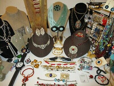 $ CDN62.75 • Buy 102 Piece Rhinestone And Beaded Vintage To Now Jewelry Lot*k Cole*napier*origami