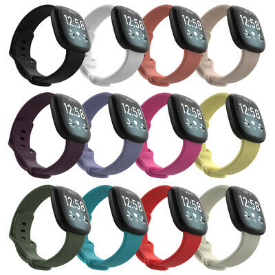 $ CDN2.87 • Buy Solo Loop Strap Replacement Watch Band Bracelet For Fitbit Versa 3 Fitbit Sense