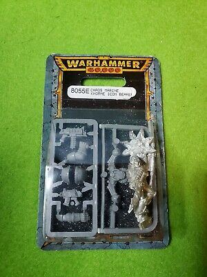 AU18.35 • Buy Warhammer 40K Chaos Space Marine Khorne Icon Bearer NIB Metal OOP Games Workshop