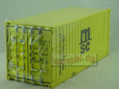 AU51.57 • Buy 1/20 MSC Shipping Container Model