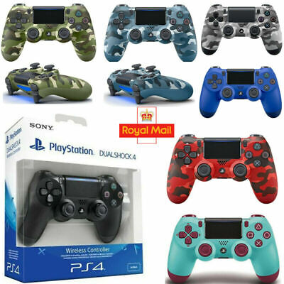 PS4 Controller PlayStation Games Console DUALSHOCK 4 V2 Wireless Official UK • 24.84£
