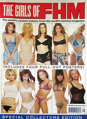 AU25 • Buy Girls Of Fhm Special Collectors Edition, Kylie Minogue, 4 Pull Out Posters
