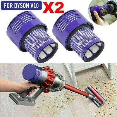 AU20.49 • Buy 2x Washable Hepa Filter For DYSON Cyclone V10 Animal Absolute Total Clean Vacuum