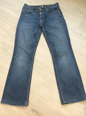 AU16.06 • Buy 7 For All Mankind Mid Rise Bootcut Jeans Size 28