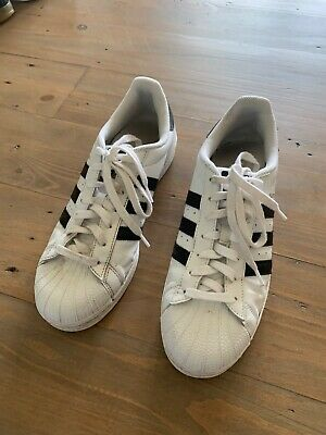 AU16.01 • Buy Adidas Superstar, Size 9, White And Black
