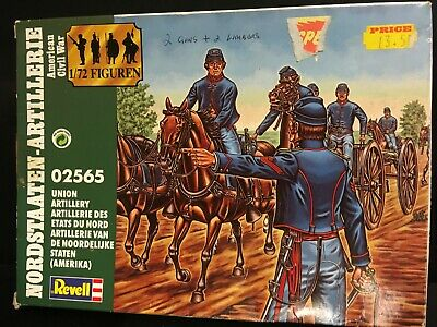 £11.95 • Buy American Civil War Union Revell Figures 2565 1/72 Scale (artillery) Boxed
