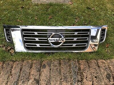 Nissan Navara D23 Np300 15-20 Chrome Front Grille - With Front Camera Slot • 35£