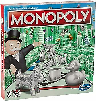 Monopoly Classic Board Game From Hasbro Gaming • 21£