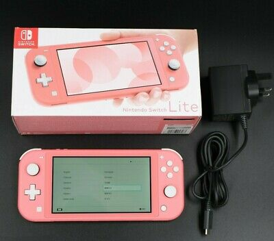 AU323.92 • Buy Nintendo Switch Lite Coral / Pink Console Boxed With Charger