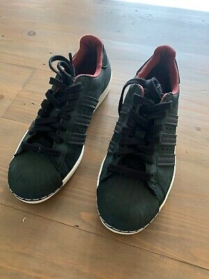 AU16.36 • Buy Adidas Superstar, Rare Black And Red, Size 6