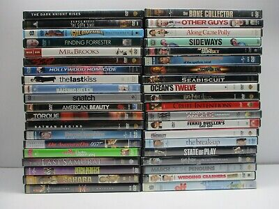 $ CDN26.93 • Buy Wholesale Lot Of 40 Assorted ***( Various Genres )*** DVDs & DVDs Movies (L#400)