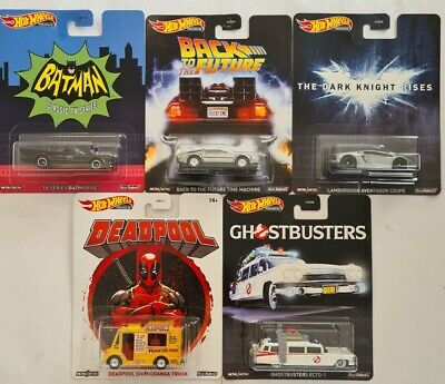 AU80 • Buy Hot Wheels Retro 2020 Complete Set Mix B Batmobile Bttf Deadpool Ghostbusters
