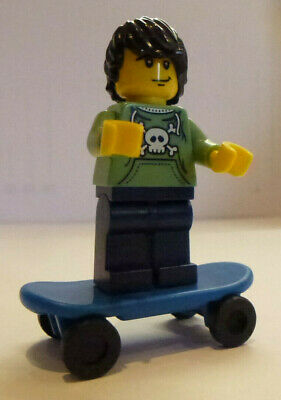 Genuine LEGO Collectable Minifigure   SKATEBOARDER   From Series 1 - Rare - New • 5.99£