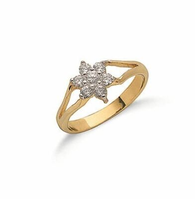 AU185.41 • Buy 9ct Yellow Gold Baby Ring 7mm