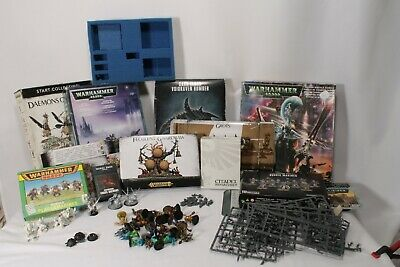 AU18.90 • Buy Games Workshop Warhammer 40k Age Of Sigmar Job Lot Nurgle Khorne Tzeentch