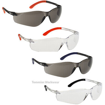 £5.89 • Buy Panoramic View Safety Glasses Curved Lens PPE Specs FREE CORD 99% UV Protection