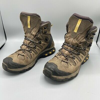 AU125.38 • Buy SALOMON Quest 4D 3 GTX GORE-TEX Green Leather Hiking Boots Men 9.5