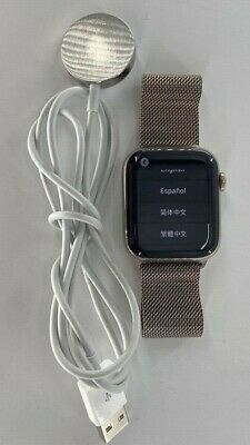$ CDN627.66 • Buy Apple Watch Series 6 44mm Case With Milanese Loop Gold Stainless Steel M07P3LL/A