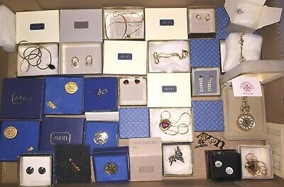 $ CDN12.54 • Buy Large Vintage Avon Costume Jewelry Lot All Signed Necklaces Earrings Pins