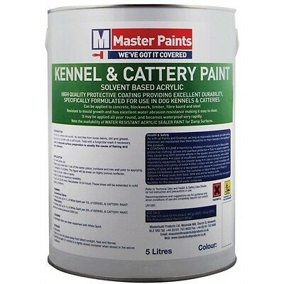 £62.58 • Buy Kennel & Cattery Paint 5 Litre County Cream (see Picture For Colour Shade)