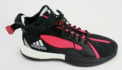 $ CDN61.45 • Buy Adidas Posterize Mens Basketball Sneakers Shoes Size 10.5 Black Red EG6879