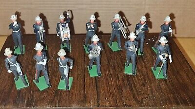 Vintage BRITAINS EYES RIGHT ROYAL MARINES Inc Marching Band Soldiers  • 30.99£