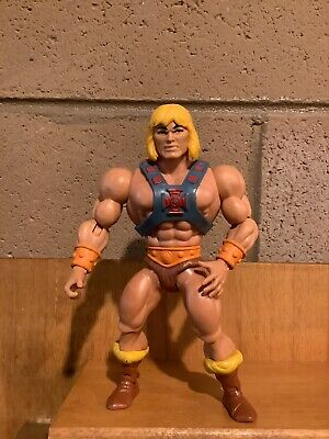 $7.50 • Buy Masters Of The Universe Origins He-Man And Weapons Lot
