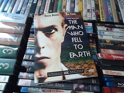 The Man Who Fell To Earth (2-Disc, DVD, 2003) 1976 David Bowie WATER DAMAGED • 10.88£