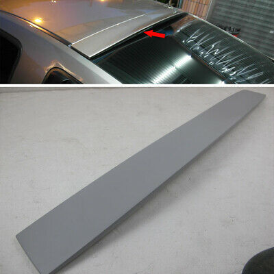 $129 • Buy Painted Rear Roof Spoiler For Ford Mustang V6 5th 2DR Coupe 2005-2014 ABS